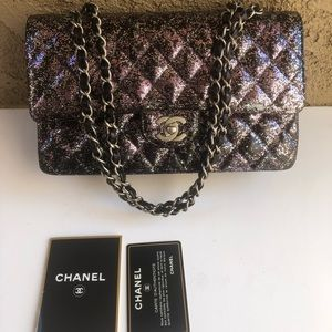 💕CHANEL DOUBLE FLAP CUSTOM DYED